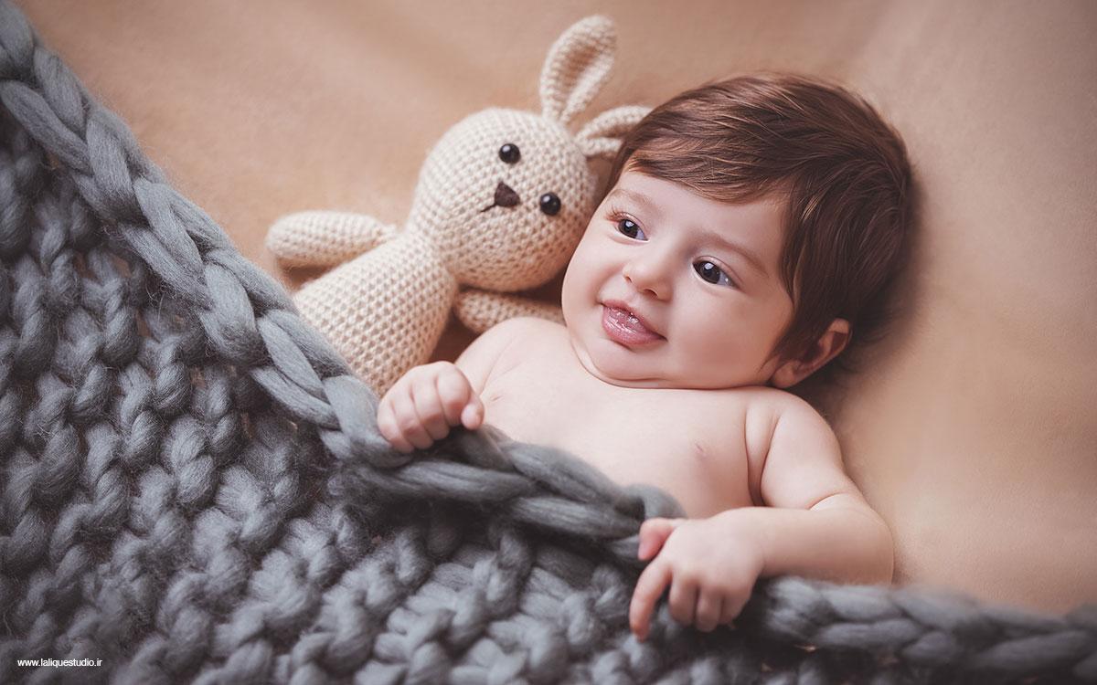 عکاسی نوزادی و کودک استودیو لالیک 13