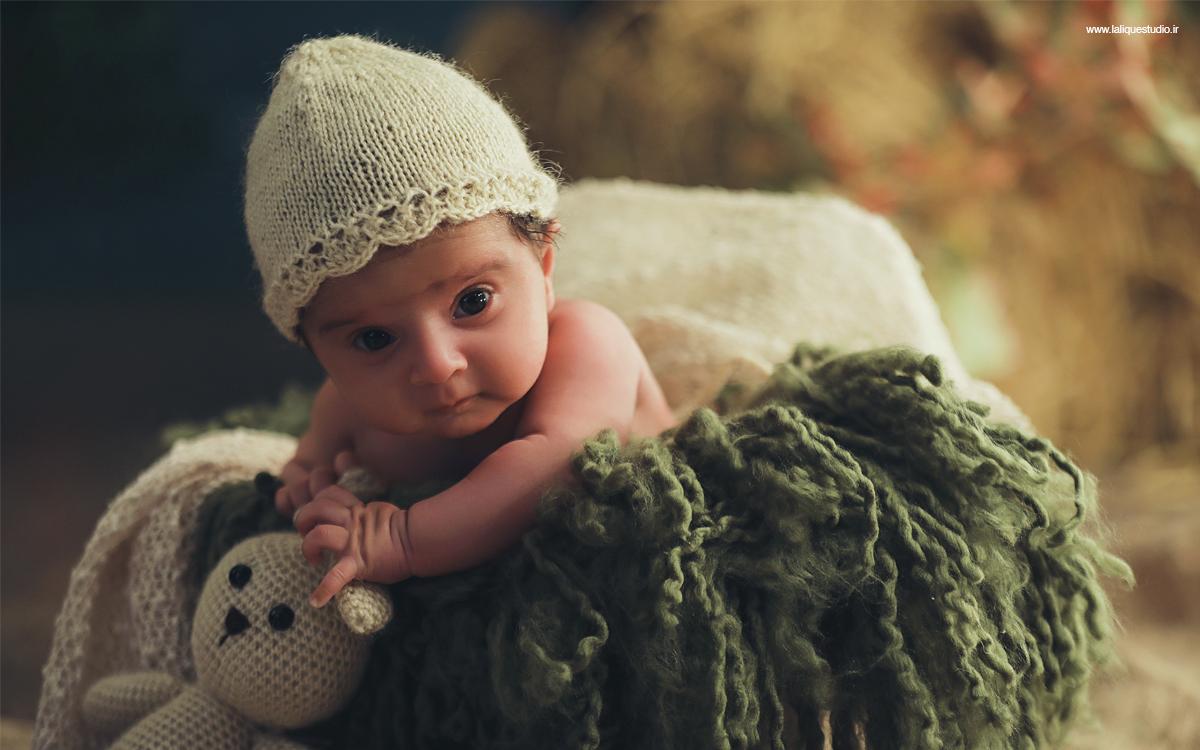 عکاسی نوزادی و کودک استودیو لالیک 21