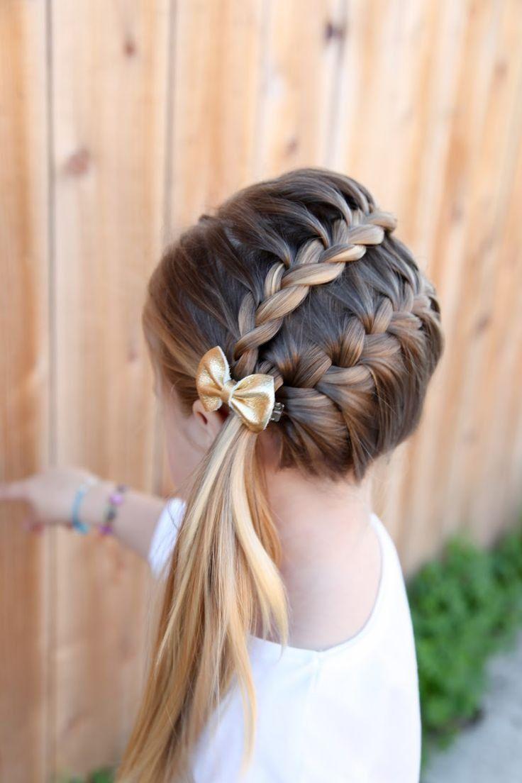 مدل های جذاب و متفاوت بافت مو برای دختربچه ها