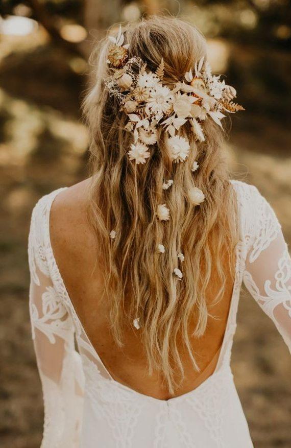 معرفی چند مدل زیبا از مو های عروس به سبک بو هو