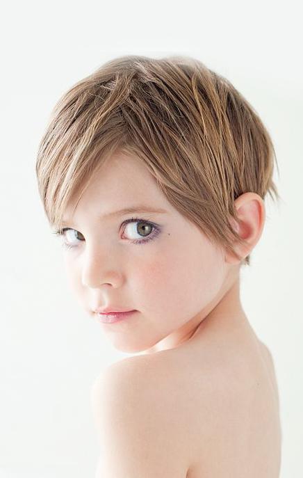 مدل موهای کوتاه جذاب برای دختربچه ها
