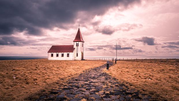 مسیر منتهی به کلیسا
