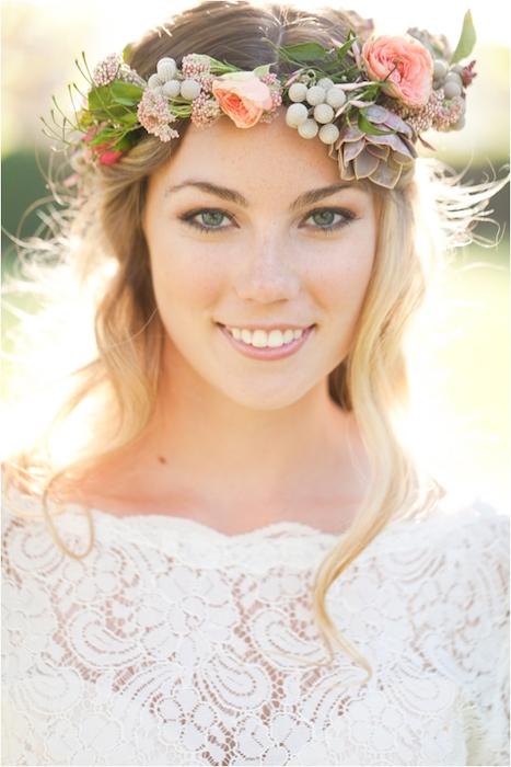 17 نمونه از آرایش عروس به سبک بو هو