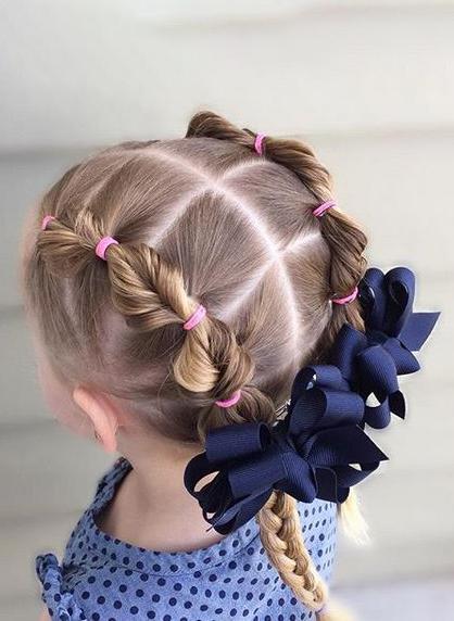 20 ایده برای مدل مو ی دوگوشی دختر بچه ها