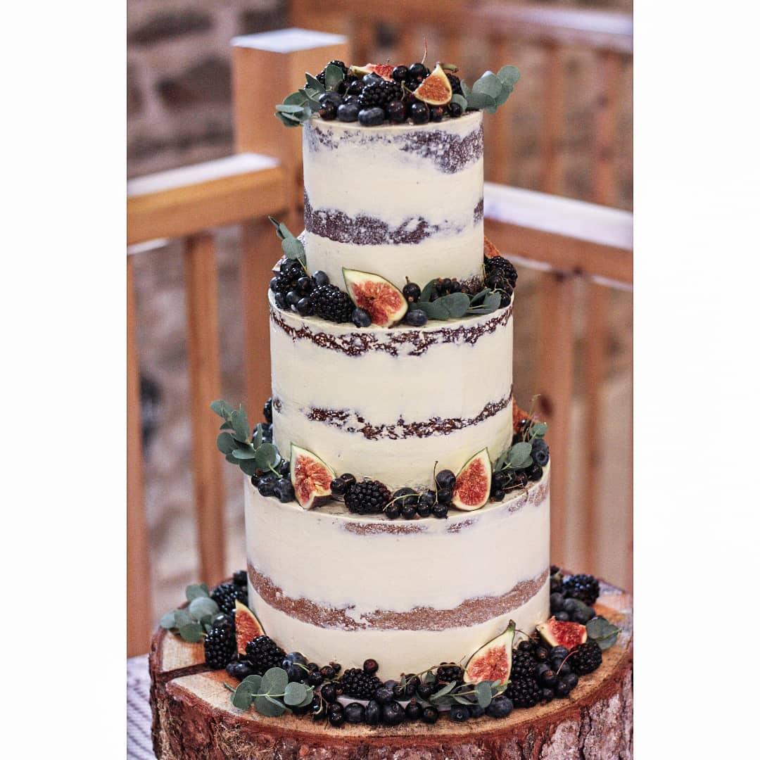 کیک های متفاوت عروسی در سبک بوهو