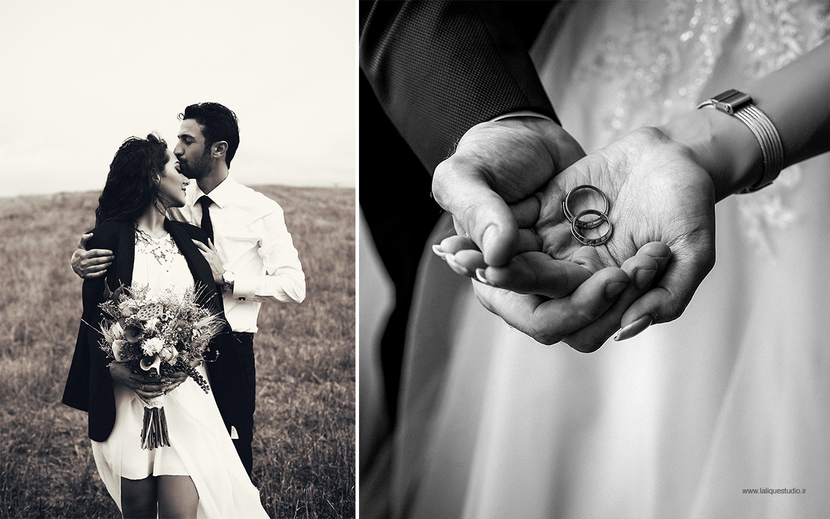 عکاسی فرمالیته و عروسی استودیو لالیک 40