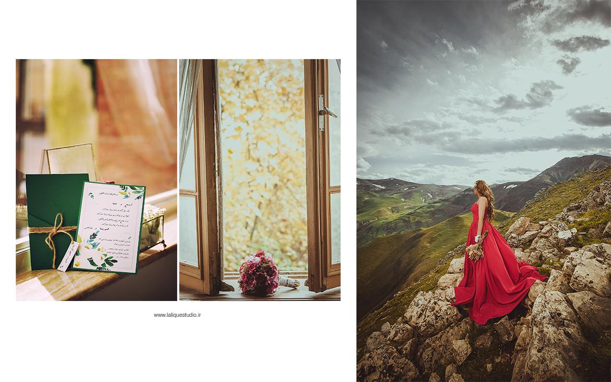 عکاسی فرمالیته و عروسی استودیو لالیک 46