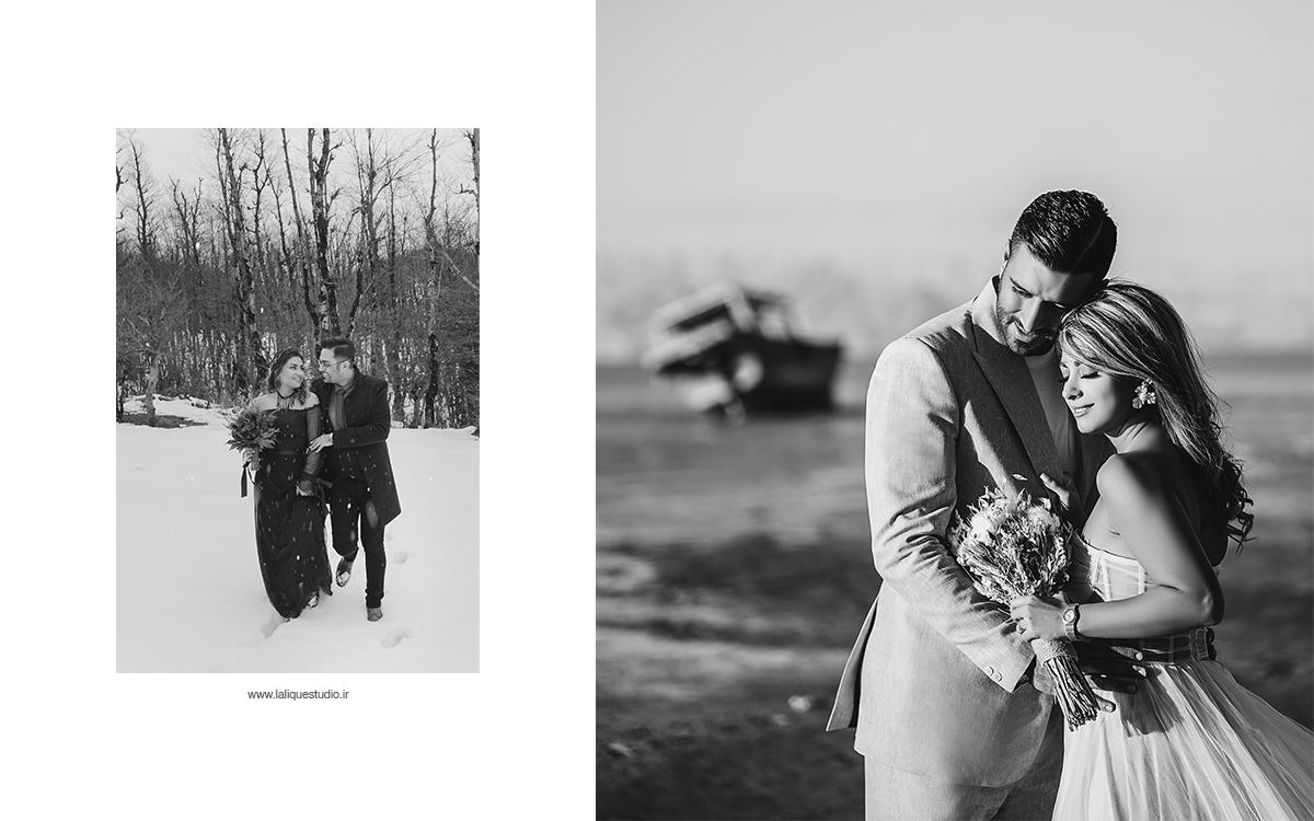 عکاسی فرمالیته و عروسی استودیو لالیک 49