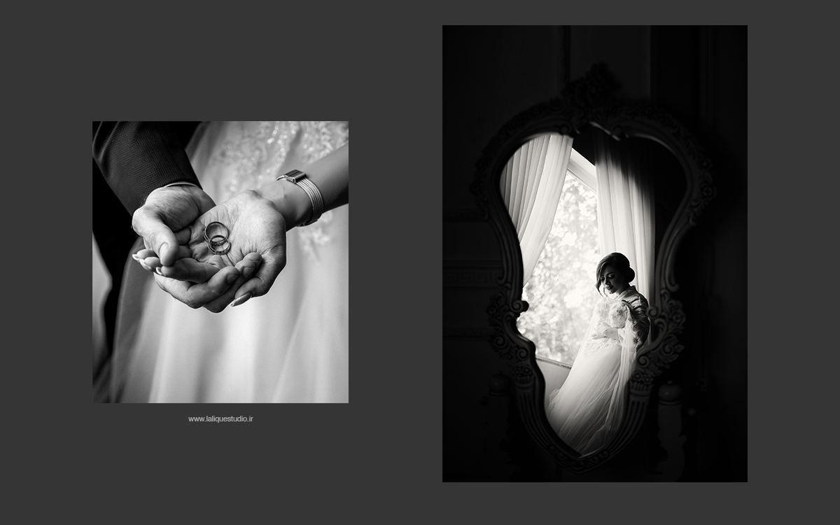 عکاسی فرمالیته و عروسی استودیو لالیک 48