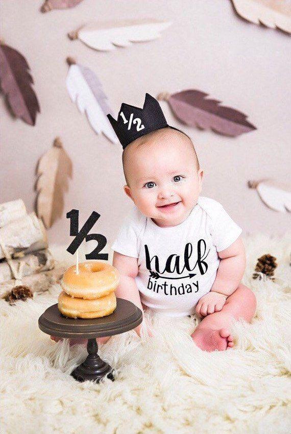 ایده های عکاسی کودک در 6 ماهگی