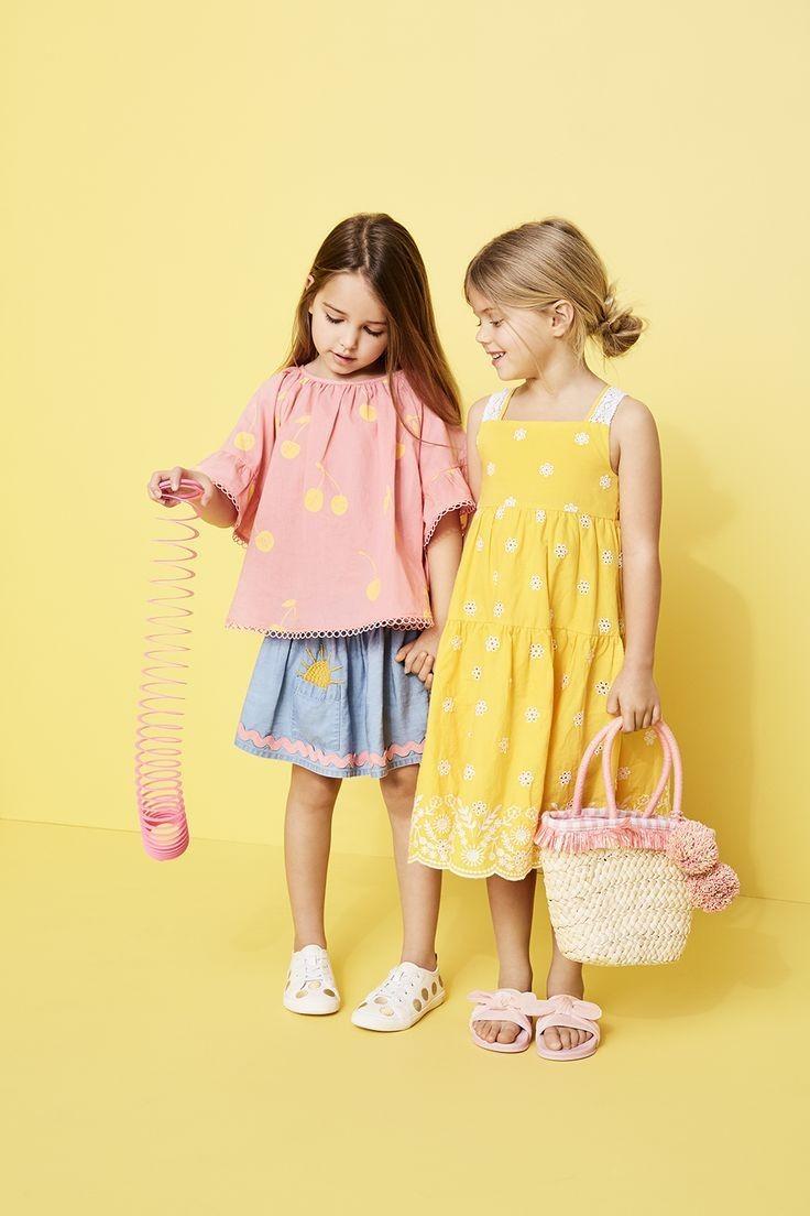 لباس بهاری دختربچه ها